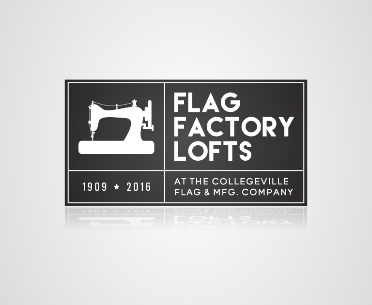 Flag Factory Lofts logo design