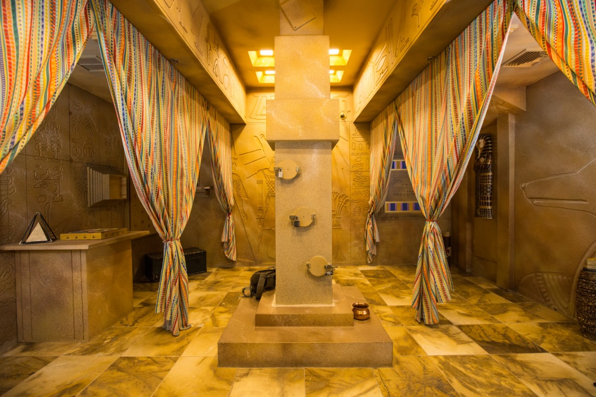 Escape Room Mystery he Egyptian Tomb room